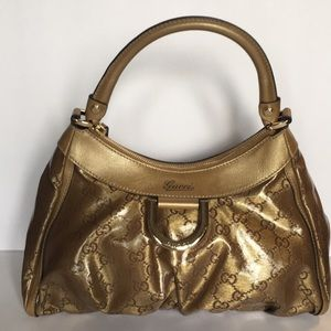 Gold Gucci Purse EUC